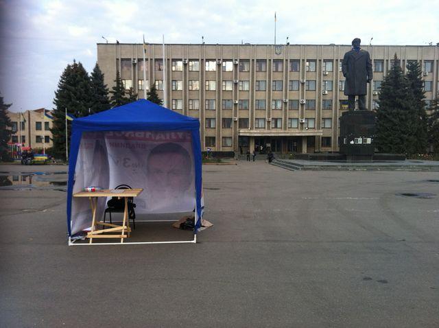 Slaviansk, voter pour oublier